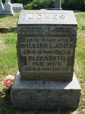 JONES, WILLIAM T. - Meigs County, Ohio | WILLIAM T. JONES - Ohio Gravestone Photos