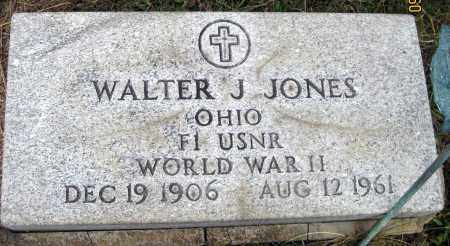 JONES, WALTER J. - Meigs County, Ohio | WALTER J. JONES - Ohio Gravestone Photos