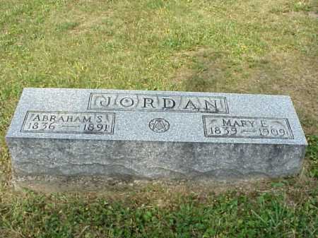 JORDAN, MARY E. - Meigs County, Ohio | MARY E. JORDAN - Ohio Gravestone Photos