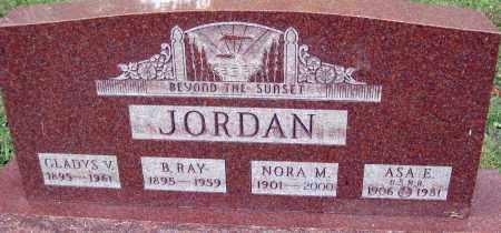 JORDAN, GLADYS V. - Meigs County, Ohio | GLADYS V. JORDAN - Ohio Gravestone Photos