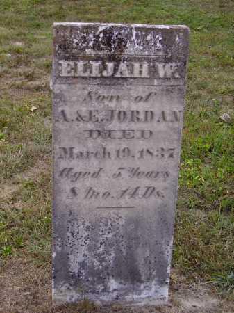 JORDAN, ELIJAH W. - Meigs County, Ohio | ELIJAH W. JORDAN - Ohio Gravestone Photos