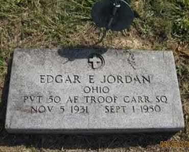 JORDAN, EDGAR E. - Meigs County, Ohio | EDGAR E. JORDAN - Ohio Gravestone Photos