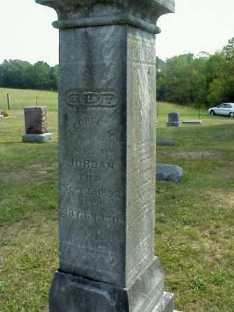 JORDAN, GEORGE M. - Meigs County, Ohio | GEORGE M. JORDAN - Ohio Gravestone Photos
