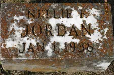 JORDAN, NELLIE F. - Meigs County, Ohio | NELLIE F. JORDAN - Ohio Gravestone Photos