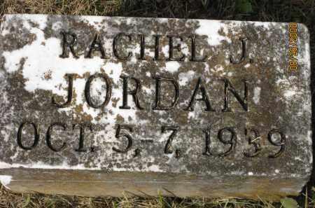 JORDAN, RACHEL J. - Meigs County, Ohio | RACHEL J. JORDAN - Ohio Gravestone Photos
