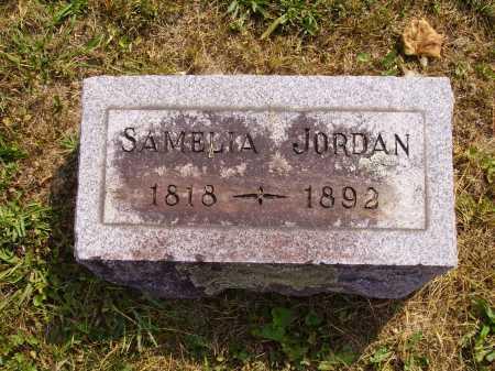 MCGLOTHLIN JORDAN, SAMELIA - Meigs County, Ohio | SAMELIA MCGLOTHLIN JORDAN - Ohio Gravestone Photos