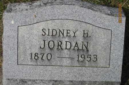 JORDAN, SIDNEY H. - Meigs County, Ohio | SIDNEY H. JORDAN - Ohio Gravestone Photos
