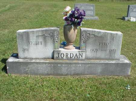 JORDAN, FRED - Meigs County, Ohio | FRED JORDAN - Ohio Gravestone Photos