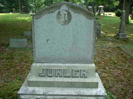 JUHLER, MONUMENT - Meigs County, Ohio | MONUMENT JUHLER - Ohio Gravestone Photos