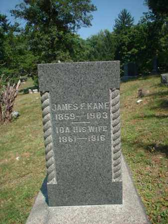 KANE, JAMES F. - Meigs County, Ohio | JAMES F. KANE - Ohio Gravestone Photos