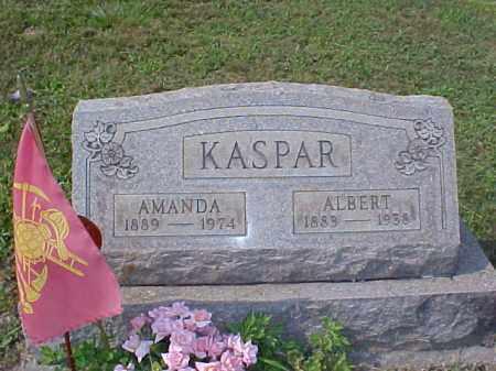 KASPAR, ALBERT - Meigs County, Ohio | ALBERT KASPAR - Ohio Gravestone Photos