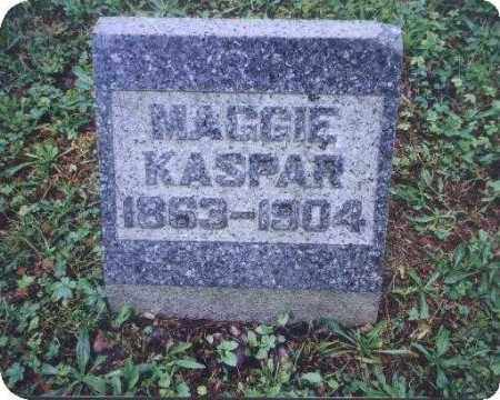 KASPAR, MAGGIE - Meigs County, Ohio | MAGGIE KASPAR - Ohio Gravestone Photos