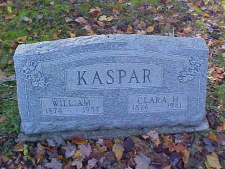 KASPAR, WILLIAM - Meigs County, Ohio | WILLIAM KASPAR - Ohio Gravestone Photos