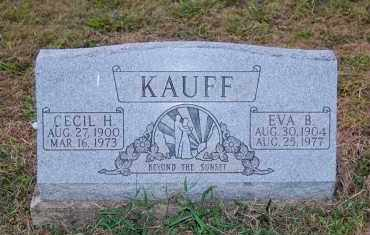 KAUFF, EVA B. - Meigs County, Ohio | EVA B. KAUFF - Ohio Gravestone Photos