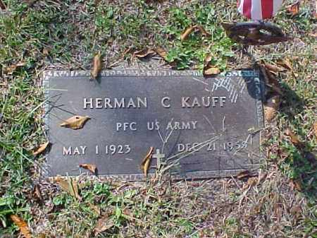KAUFF, HERMAN C. - Meigs County, Ohio | HERMAN C. KAUFF - Ohio Gravestone Photos