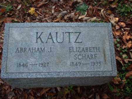 KAUTZ, ELIZABETH - Meigs County, Ohio | ELIZABETH KAUTZ - Ohio Gravestone Photos