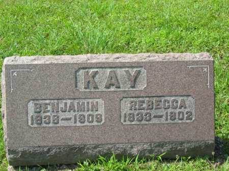 KAY, REBECCA LALLANCE - Meigs County, Ohio | REBECCA LALLANCE KAY - Ohio Gravestone Photos