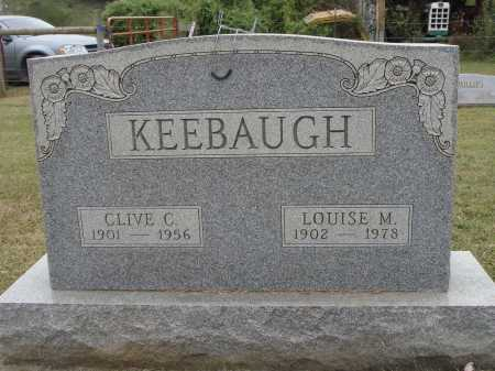 BAHR KEEBAUGH, LOUISE M. - Meigs County, Ohio | LOUISE M. BAHR KEEBAUGH - Ohio Gravestone Photos