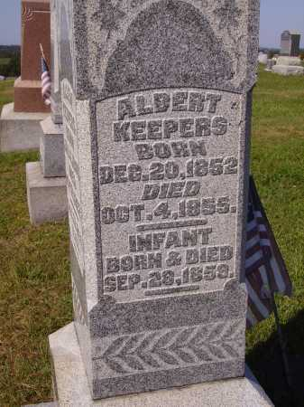 KEEPERS, ALBERT - Meigs County, Ohio | ALBERT KEEPERS - Ohio Gravestone Photos