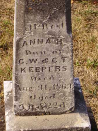 KEEPERS, ANNA H. - CLOSEVIEW - Meigs County, Ohio   ANNA H. - CLOSEVIEW KEEPERS - Ohio Gravestone Photos