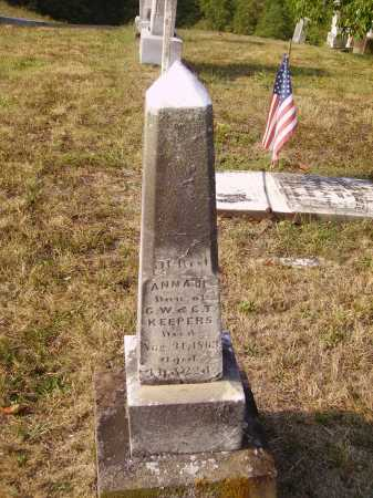 KEEPERS, ANNA H. - Meigs County, Ohio | ANNA H. KEEPERS - Ohio Gravestone Photos