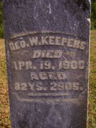 KEEPERS, GEORGE WASHINGTON - Meigs County, Ohio | GEORGE WASHINGTON KEEPERS - Ohio Gravestone Photos