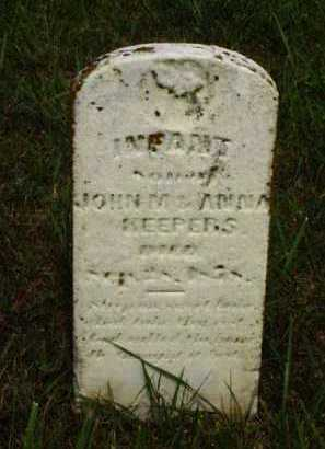 KEEPERS, INFANT - Meigs County, Ohio | INFANT KEEPERS - Ohio Gravestone Photos