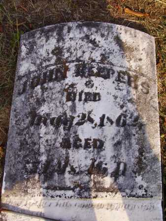 KEEPERS, JOHN - Meigs County, Ohio | JOHN KEEPERS - Ohio Gravestone Photos
