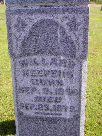 KEEPERS, WILLARD - CLOSEVIEW - Meigs County, Ohio | WILLARD - CLOSEVIEW KEEPERS - Ohio Gravestone Photos