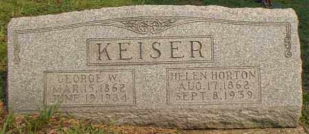 KEISER, HELEN - Meigs County, Ohio | HELEN KEISER - Ohio Gravestone Photos