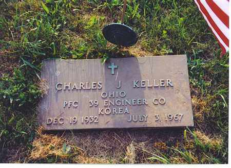KELLER, CHARLES J. - Meigs County, Ohio | CHARLES J. KELLER - Ohio Gravestone Photos