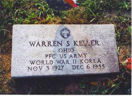KELLER, WARREN S. - Meigs County, Ohio | WARREN S. KELLER - Ohio Gravestone Photos