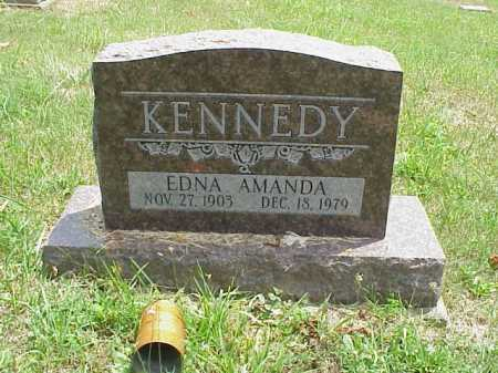 KENNEDY, EDNA AMANDA - Meigs County, Ohio | EDNA AMANDA KENNEDY - Ohio Gravestone Photos