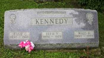 KENNEDY, EFFIE F. - Meigs County, Ohio | EFFIE F. KENNEDY - Ohio Gravestone Photos
