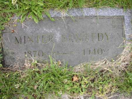 KENNEDY, MINTOR - Meigs County, Ohio | MINTOR KENNEDY - Ohio Gravestone Photos