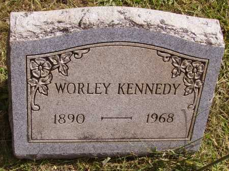 KENNEDY, WORLEY - Meigs County, Ohio | WORLEY KENNEDY - Ohio Gravestone Photos