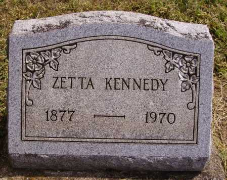 KENNEDY, ZETTA - Meigs County, Ohio | ZETTA KENNEDY - Ohio Gravestone Photos
