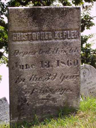 KEPLER, CHRISTOPHER - Meigs County, Ohio | CHRISTOPHER KEPLER - Ohio Gravestone Photos