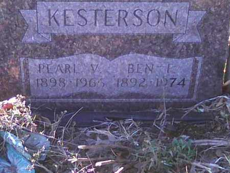 KESTERSON, BEN - Meigs County, Ohio | BEN KESTERSON - Ohio Gravestone Photos