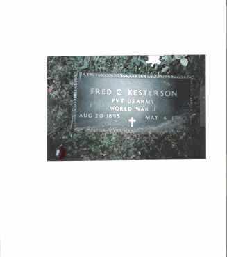 KESTERSON, FRED C. - Meigs County, Ohio | FRED C. KESTERSON - Ohio Gravestone Photos