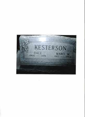 "KESTERSON, MARION ""DALE"" - Meigs County, Ohio | MARION ""DALE"" KESTERSON - Ohio Gravestone Photos"