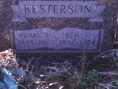 KESTERSON, PEARL - Meigs County, Ohio | PEARL KESTERSON - Ohio Gravestone Photos