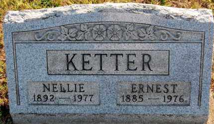 KETTER, NELLIE - Meigs County, Ohio | NELLIE KETTER - Ohio Gravestone Photos