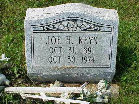 KEYS, JOE H. - Meigs County, Ohio | JOE H. KEYS - Ohio Gravestone Photos