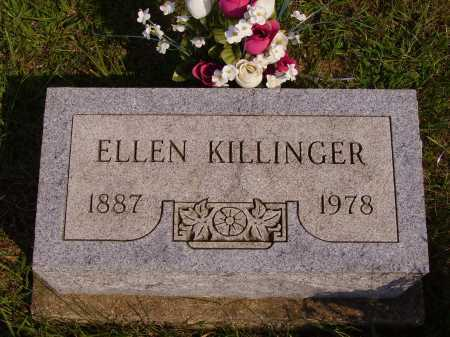 KILLINGER, ELLEN - Meigs County, Ohio | ELLEN KILLINGER - Ohio Gravestone Photos