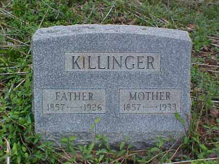 KILLINGER, MOTHER - Meigs County, Ohio | MOTHER KILLINGER - Ohio Gravestone Photos