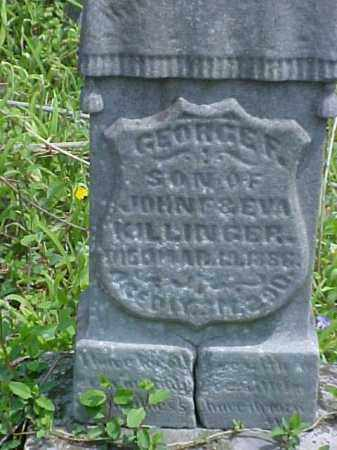 KILLINGER, GEORGE F. - Meigs County, Ohio | GEORGE F. KILLINGER - Ohio Gravestone Photos
