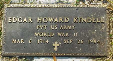 KINDELL, EDGAR HOWARD - MILITARY - Meigs County, Ohio | EDGAR HOWARD - MILITARY KINDELL - Ohio Gravestone Photos