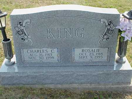 CARR KING, ROSALIE - Meigs County, Ohio | ROSALIE CARR KING - Ohio Gravestone Photos