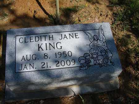 KING, CLEDITH JANE - Meigs County, Ohio | CLEDITH JANE KING - Ohio Gravestone Photos